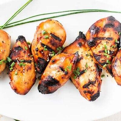 The BEST Grilled Chicken Marinade
