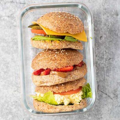 3 Keto Sandwiches
