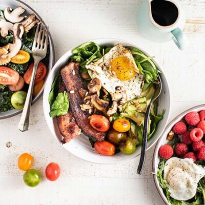 Keto Breakfast Salads