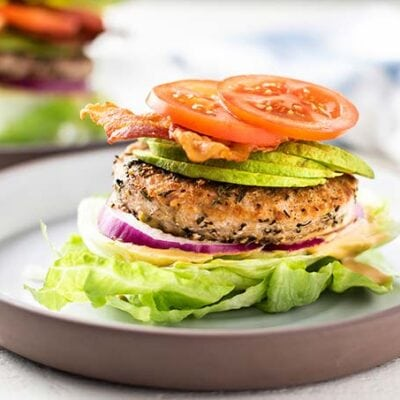 Lettuce Wrap Burger